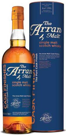 The Arran Malt Scotch Single Malt Port Cask Finishes